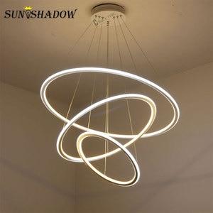Image 1 - Led Chandelier Lamp For Living room Dining room Kitchen Light Fixtures Modern LED Ceiling Chandelier Lighting Lamparas de techo