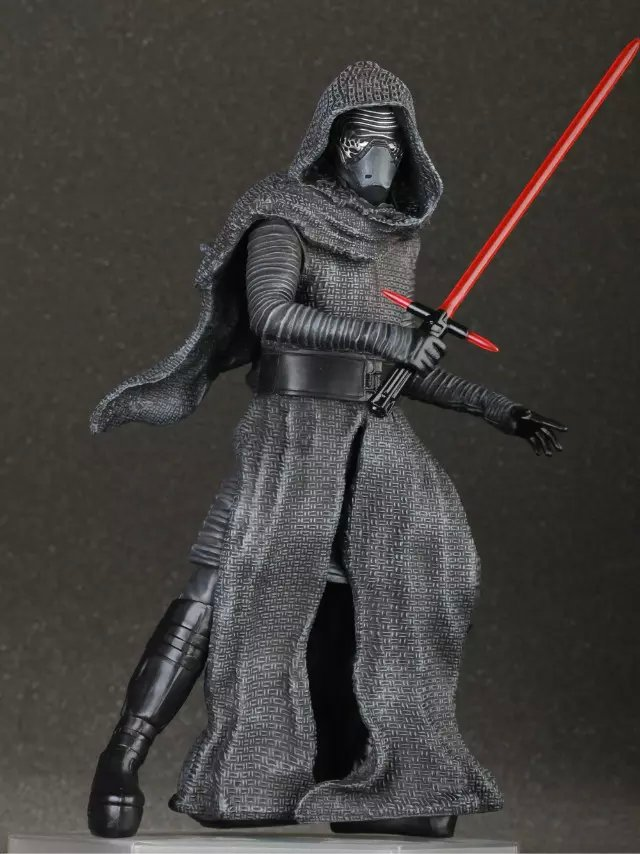 все цены на NEW Hot 24cm Star Wars 7 The Force Awakens Kylo Ren Action Figure Toys Christmas Toy Collectors Gift онлайн