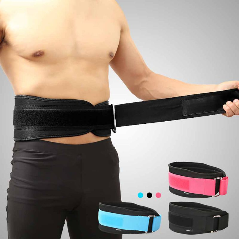 Fitness Protector Belt Weight Lifting Nylon EVA Weightlifting Training Protector Belt Lower Back Support Gym Bodybuilding Belts