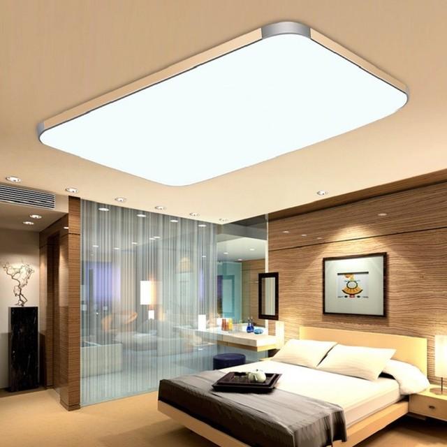 LED Plafond verlichting Plafondlamp 36 W diammable kleur RC controle ...