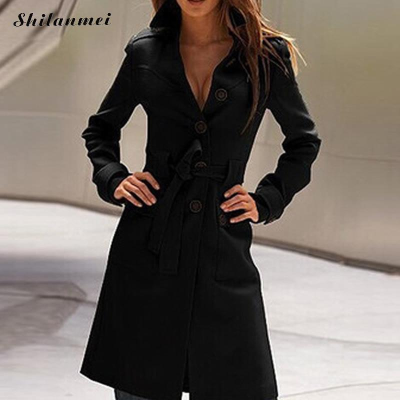 2019 New Autumn Female Jacket High Quality Genuine Leather Jacket Casual Belted Slim Fit Outwear Elegant Party Woman Overcoat Sales Of Quality Assurance Leather & Suede