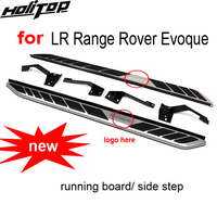 new arrival nerf bar/side step /foot bar pedals for Range Rover Evoque,good quality,high cost performance,fit 2011 2015 year.