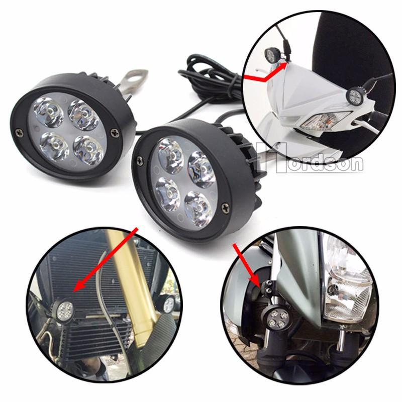 LED Motorcycle Headlight 4led (6)