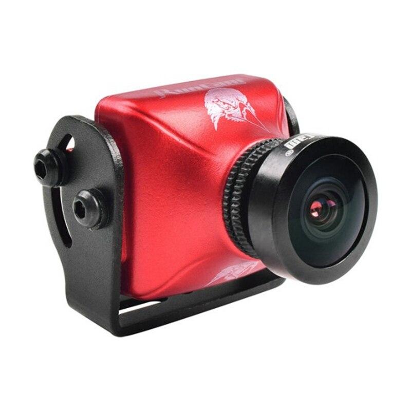 RunCam Eagle 2 800TVL mini camera CMOS 2.5mm 16:9 NTSC / PAL Switchable Super WDR FPV Camera Low Latency Red  runcam eagle 800tvl dc 5 17v global wdr 16 9 cmos fpv racing drone camera pal ntsc switchable