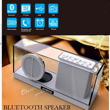 Original Sardine SDY-033 Portable Wireless Altavoz Bluetooth Speaker Stereo Audio Subwoofer With MIC+FM Radio Boombox Player