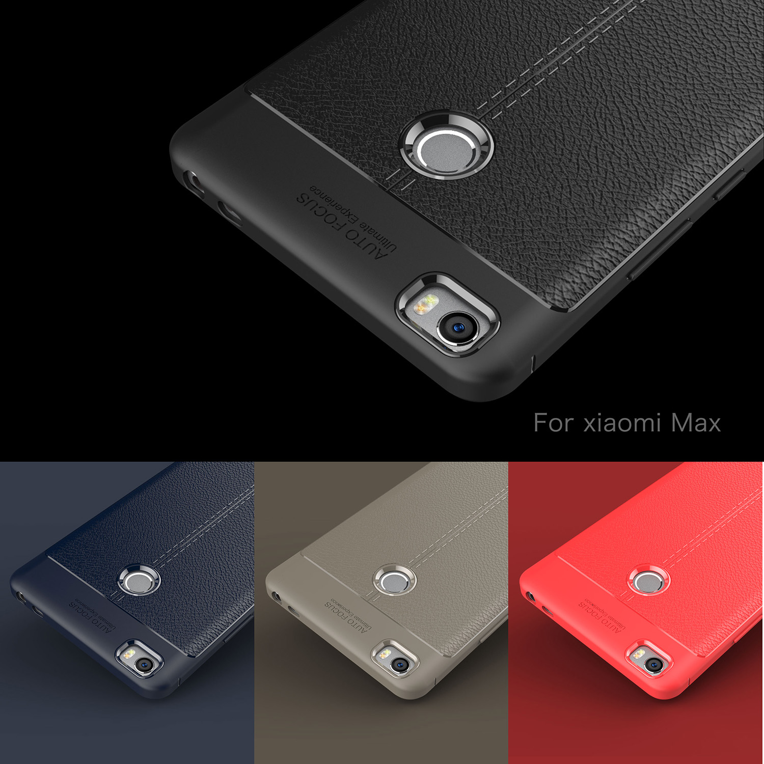 Cover Xiaomi Mi Max Case Rubber Silicone Phone Shell HATOLY Soft Phone Case Cover for Xiaomi Mi Max Case for Xiaomi Mi Max in Fitted Cases from Cellphones