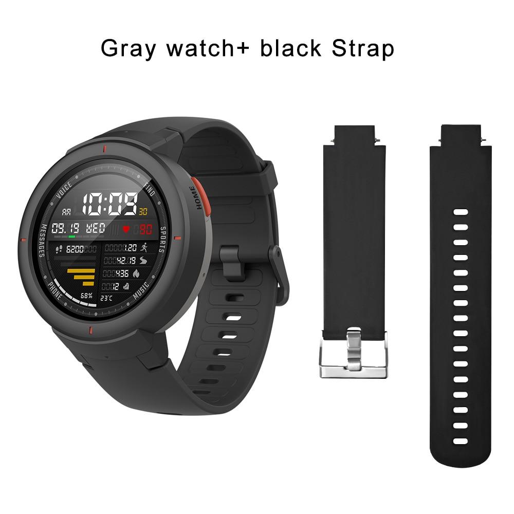 gray N black strap