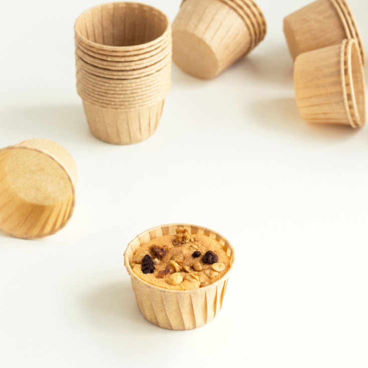 2019 New 50pcs Oil-proof Cup  Oil Paper Cup Cake Paper Cupcake Liners Muffin Cases Greaseproof Dessert Baking Cups