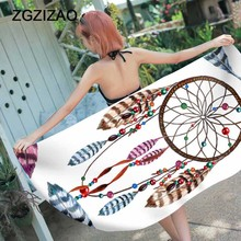 Boho print Beach Towel women profession  Large Microfiber Original square summer Quick drying Serviette De Plage