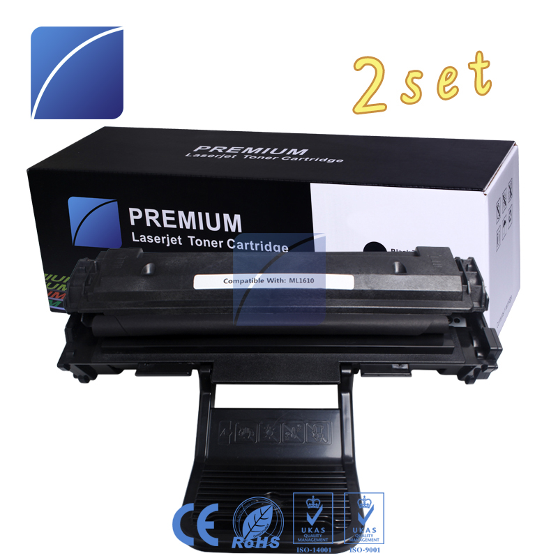 2pcs ML1610 toner cartridge Compatible For Samsung SCX-4521F SCX-4321 ML1610 ML2010 Xerox Phaser 3117 3122 Dell 1110 printer cs s506 compatible toner printer cartridge for samsung clty506l cltm506l clp680dw clx6260fr clx6260fw clx6260nd 6k 3 5kpages