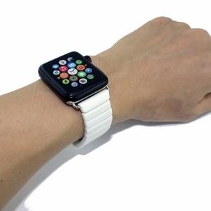 Image 5 - Pasek ceramiczny dla pasek do apple watch 38mm 42mm 40mm 44mm inteligentny bransoletka do zegarka ceramiczny linki pasek do zegarka iwatch serii 5 4 3 2 1