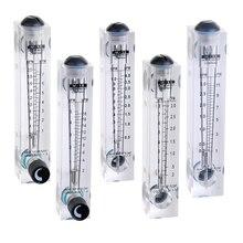 PMMA Chất Lỏng Dòng Chảy Nhanh Đo Lưu Lượng Nước Bảng Rotameter Với Van Điều Khiển LZM 15T 0.2 2LPM 0.2 3LPM 0.5 4LPM 1 7LPM 10 100L/H