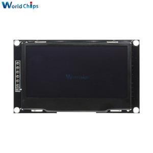 "Image 5 - Diymore Blau 2,42 ""2,42 inch LCD Screen 128x64 OLED Display Modul IIC I2C SPI Serielle 12864 OLED display für C51 STM32 SPD0301"