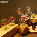 G80 Edison Bulb E27 220V vintage Lamp Christmas decoration Flower Love Rose I Love You Ampoule Retro Lamp Incandescent Light