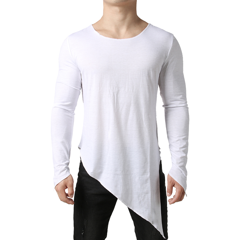 Extra Long T Shirt Men 2019 Mens Tyga Swag