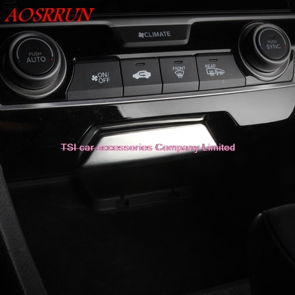 Instrument Panel Car Interior Decoration Decorative Stainless Steel