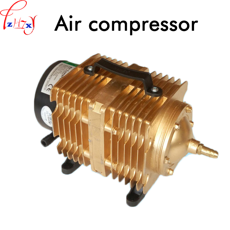 Electromagnetic air compressor ACO-009E air pump oxygen pump 145L/min air compressor use for large-scale fresh product 220V 160W