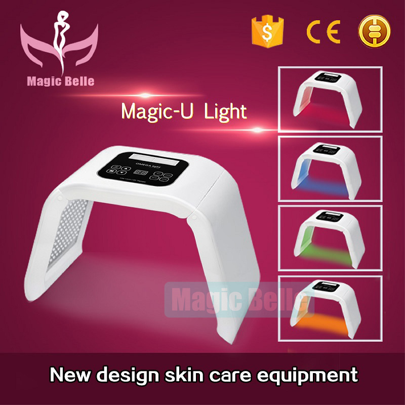 2018 popular style! Portable 4-color Omega lamp for skin beauty mask  for salon use2018 popular style! Portable 4-color Omega lamp for skin beauty mask  for salon use