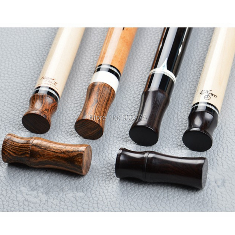 Radial Pin /3/8 10 Pool Cue Billiard Stick wood Joint Protectors  Ebony/Rosewood/Bocote wood (optional)-in Snooker & Billiard Accessories from Sports & Entertainment