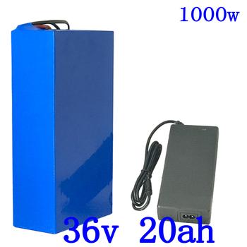 Gorąca sprzedaż 36 V bateria litowa 36 V 20AH bateria do rowerów elektrycznych 36 V 20ah 1000W akumulator do skutera z 30A BMS i 42V 5A ładowarka tanie i dobre opinie JSA KAKA 10-20ah 19 8Ah 42V 2A Charger 295*120*70mm Use 3 7V 2200mah 18650 Cell 250W 350W 750W 1000W 10 Series with 9 Parall