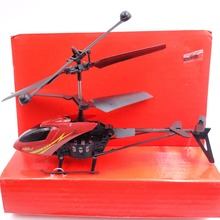Shatter Resistant Radio Remote Control Aircraft 2.5CH I/R Quadcopter RC Helicopter Kids Gifts Red and Yellow