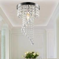 Modern K9 Large Led Spiral Living Room Crystal Chandeliers Light Fixtures For Staircase Stair Lamp Crystal Led Lamp