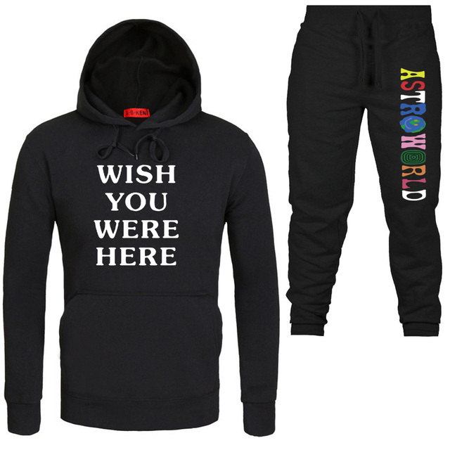 096a1a779ad5 TRAVIS SCOTT ASTROWORLD WISH YOU WERE HERE HOODIES fashion letter ASTROWORLD  HOODIE streetwear Man woman Pullover