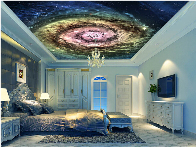Personalizzato papel de parede para sala il cosmo stellato vortex