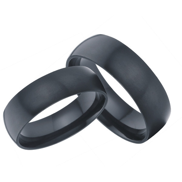 cool man gay pride marriage gift black titanium jewelry 8mm wedding band lovers rings sets  USA size 7-13 alliance anel
