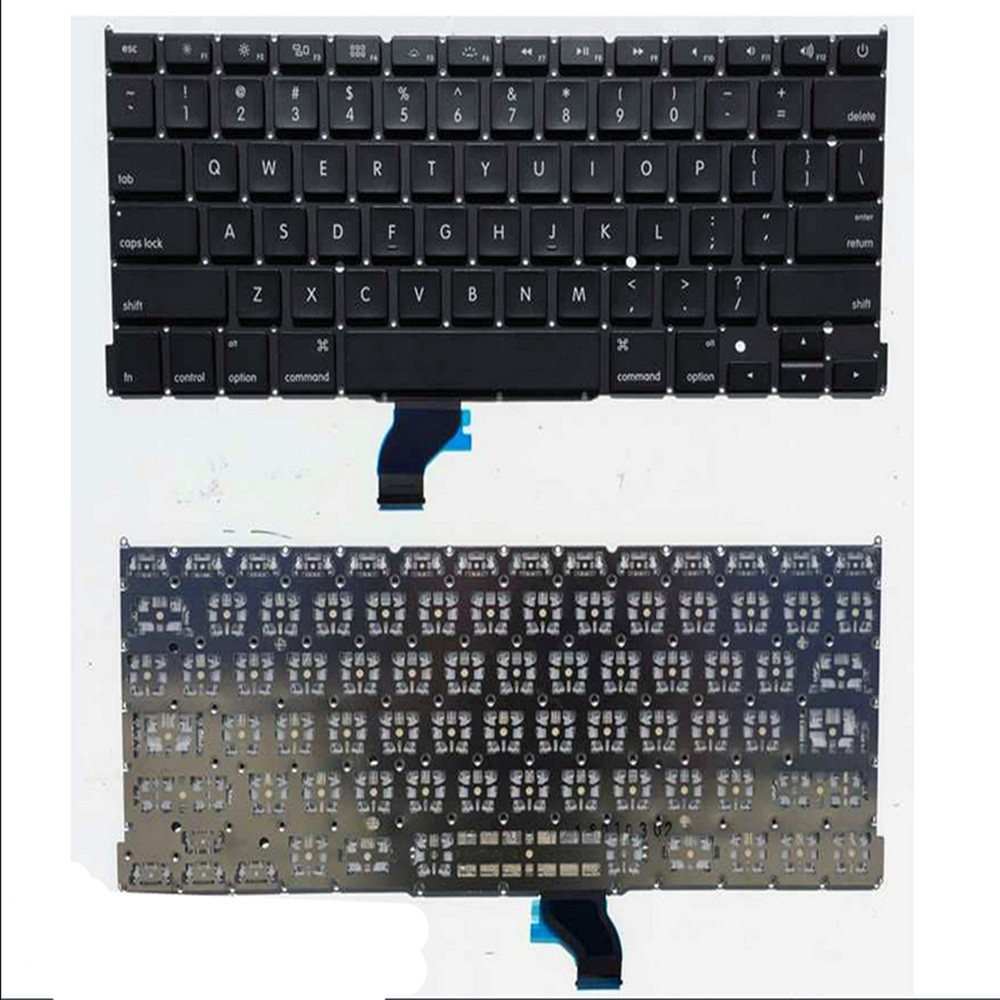 """NEW Keyboard for A PPLE Mac book Pro Unibody13""""A1502 2013 2014 Retina US"""