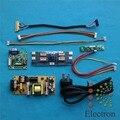 Универсальный Драйвер Доска + блок питания + двойной 8bit LVDS кабель + LED Инвертор для 14 ''-22'' ЖК-ДИСПЛЕЙ Ноутбука DIY