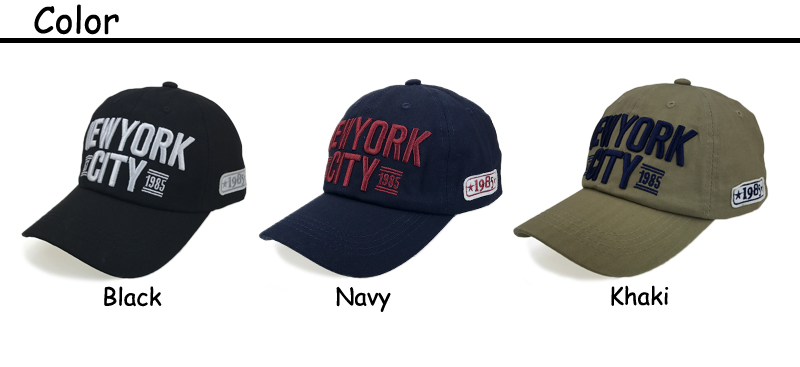 713cc358946 new york city baseball cap letter embroidery cap 3 colors basbeall cap  cotton ...