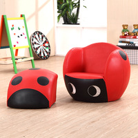 Manufacturers wholesale coccinella septempunctata Cartoon couch Children's sofa cartoon kid chairs kid sofa couch