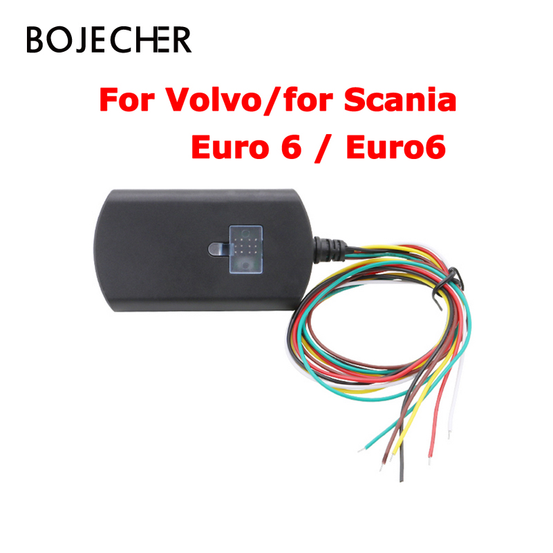 3Pcs/Lot via DHL For Scania Euro6 Adblue Emulator Truck Adblueobd2 For Volvo Euro 6 with NOX Sensor Support DPF System adblue emulator 7in1 w programming adapter for benz man scania iveco daf volvo renault