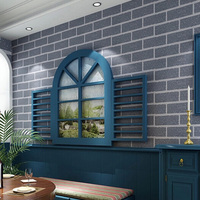 Hot Sale Vinyl Wallpapers Brick Wall 0 53 10m Brick Effect Wallpaper For Home Decoration