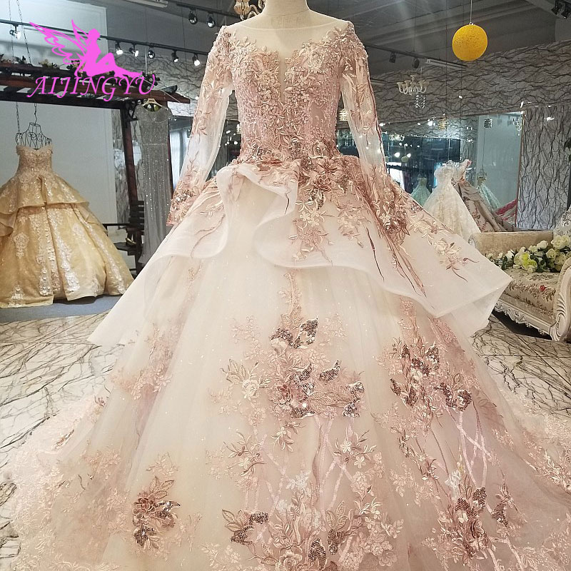 AIJINGYU Suzhou Love Season Wedding Dresses Best Bridals Accessories Gypsy Style Find Me A Gown Austria New Wedding Dress