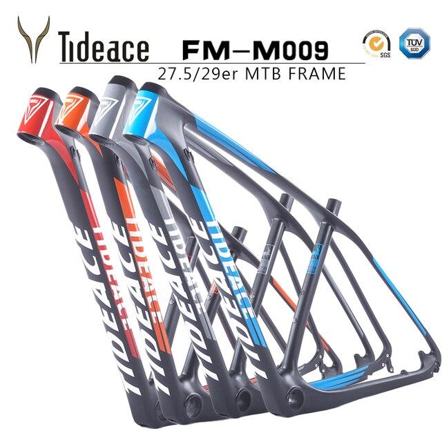 Tideace cuadros de bicicleta 29 marco del carbón MTB 29er/27.5 frame ...