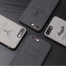 Cloth Deer Bat Cases For Xiaomi Redmi Note 7 6 Mi 9 SE 8 Lit