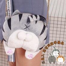цена на Cat ass inclined shoulder bag cute embroidery sweet lolita bag kawaii girl loli cos bag