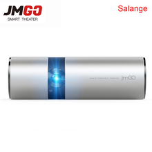 JmGO P2 View Portable Projector 3D Full HD 1080P Smart Theater 180 inch Hi-Fi Bluetooth DLP Proyector Beamer Android WIFI