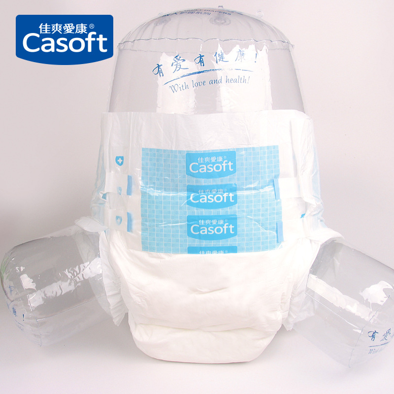 Adult Diaper 1PCS M-XL Code Old Diaper  Three-dimensional Leakproof Double-layer Cotton Core Healthy  Adult Diaper