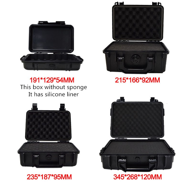 Image 2 - ABS Plastic Tool Case Waterproof Dry Box Safety Equipment Case Portable Outdoor Survival Vehicle Tools Anti collision Containercontainer waterproofcontainer box casecontainer case -