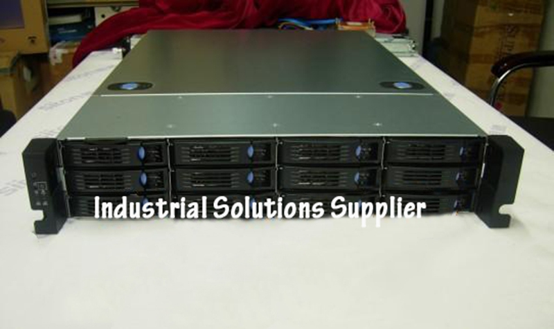New Computer Case RM23612 2U 12 Plate Computer Case Monitor Computer Case