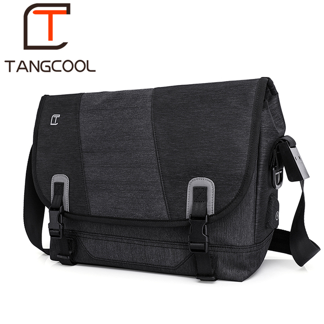 Tangcool men fashion mens shoulder bags high quality oxford casual messenger school bag for teenage