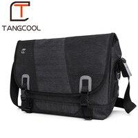 Tangcool men fashion mens shoulder bags high quality oxford casual messenger school bag for teenage