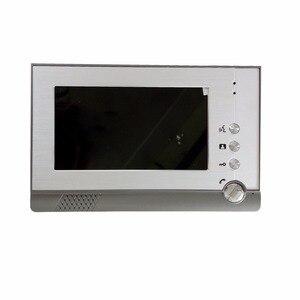 Image 4 - SmartYIBA السلكية باب الهاتف الصوت دردشة الفيديو إنترفون بطاقة التعريف بالإشارات الراديوية فتح مع 1/2 شاشات مكالمة فيديو للمنزل الخاص للرؤية الليلية