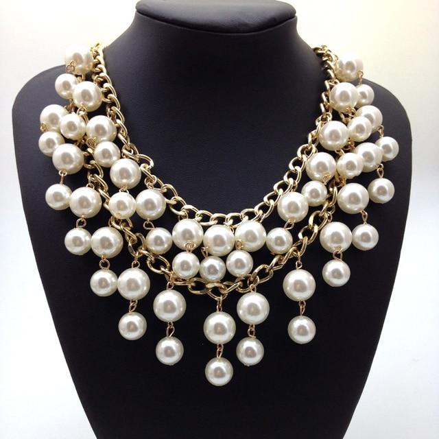 94a230733ade 2016 nuevo diseño de alta calidad collar de perlas para mujeres en ...