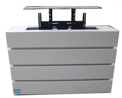 Motorized Tv Lift Cabinet For Automatic Tv Stand Can Be Lift 600mm With  Free Shipping