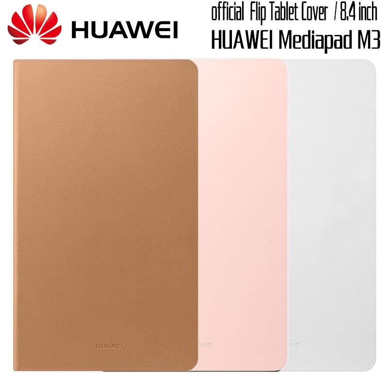 Huawei Mediapad M3 Cas D'origine Officiel Smart View HUAWEI M3 Cas Béquille Flip Étui En Cuir Fonction Couverture de Stand Tablet 8.4