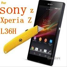 Z 9 h vidrio templado para Sony Z Xperia Z l36h l36 l36i c6603 c6602 lt36 Z LTE pantalla protector Películas caso